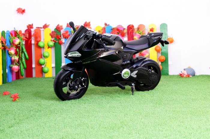 Motocicleta electrica copii 3-9 ani, SX1629, neagra [4]