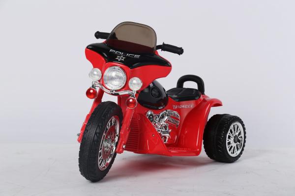 Motocicleta electrica pentru copii, POLICE JT568 35W STANDARD #Rosu 6