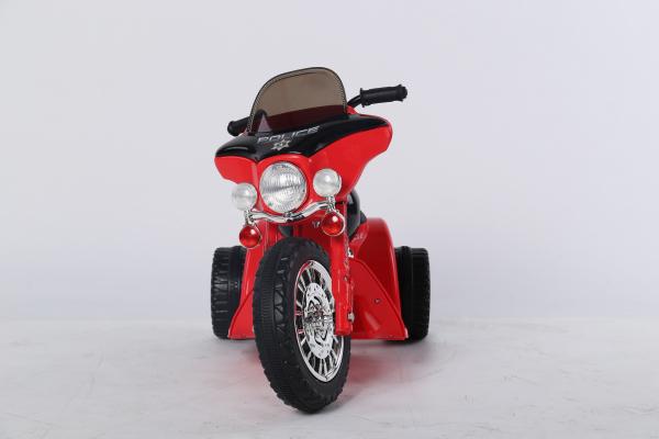 Motocicleta electrica pentru copii, POLICE JT568 35W STANDARD #Rosu 1
