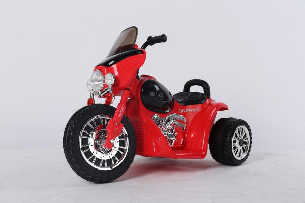 Motocicleta electrica pentru copii, POLICE JT568 35W STANDARD #Rosu 2