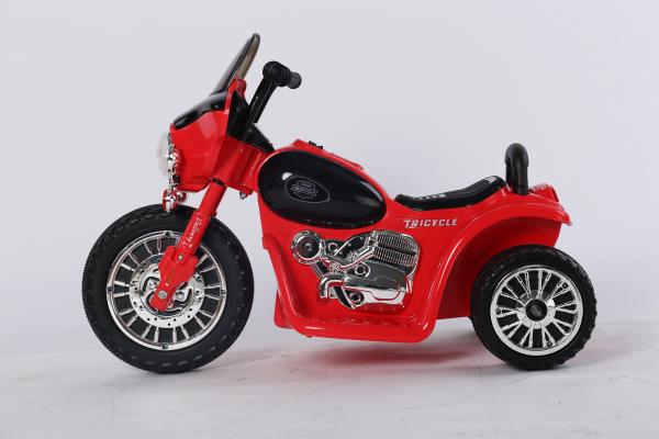 Motocicleta electrica pentru copii, POLICE JT568 35W STANDARD #Rosu 3