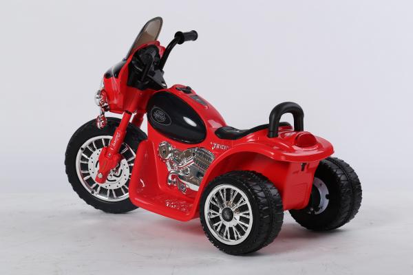 Motocicleta electrica pentru copii, POLICE JT568 35W STANDARD #Rosu 4
