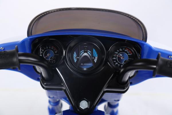Motocicleta electrica pentru copii, POLICE JT568 35W STANDARD #Albastru 5