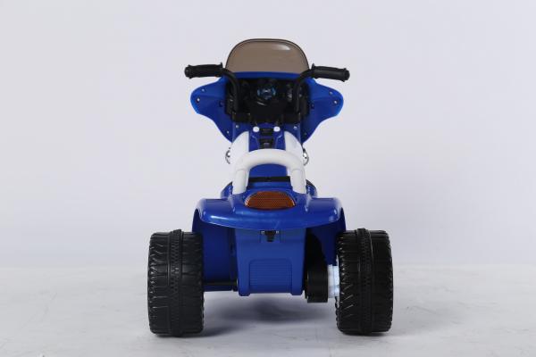 Motocicleta electrica pentru copii, POLICE JT568 35W STANDARD #Albastru 4