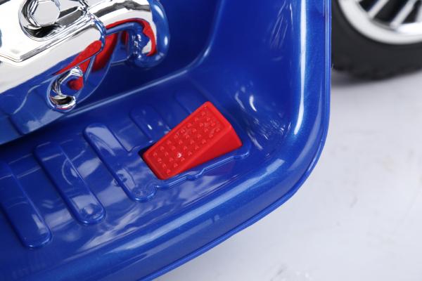 Motocicleta electrica pentru copii, POLICE JT568 35W STANDARD #Albastru 7