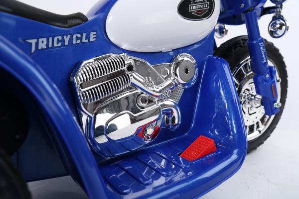 Motocicleta electrica pentru copii, POLICE JT568 35W STANDARD #Albastru 8