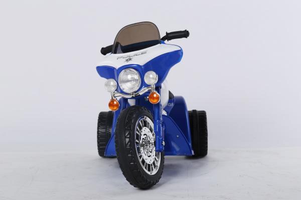 Motocicleta electrica pentru copii, POLICE JT568 35W STANDARD #Albastru 1