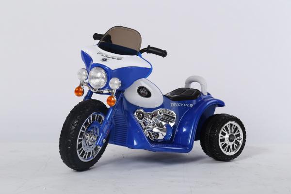 Motocicleta electrica pentru copii, POLICE JT568 35W STANDARD #Albastru 11