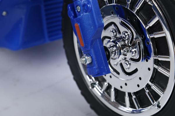 Motocicleta electrica pentru copii, POLICE JT568 35W STANDARD #Albastru 9