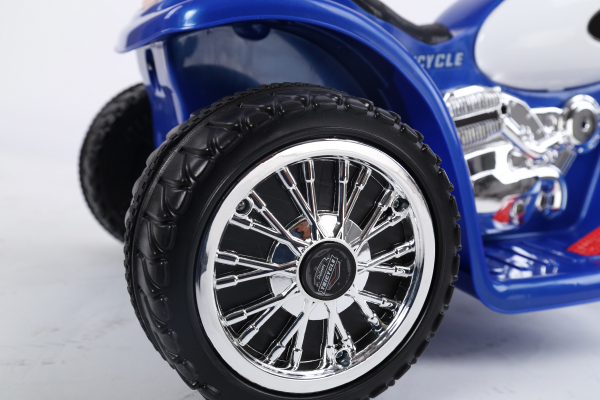Motocicleta electrica pentru copii, POLICE JT568 35W STANDARD #Albastru 6