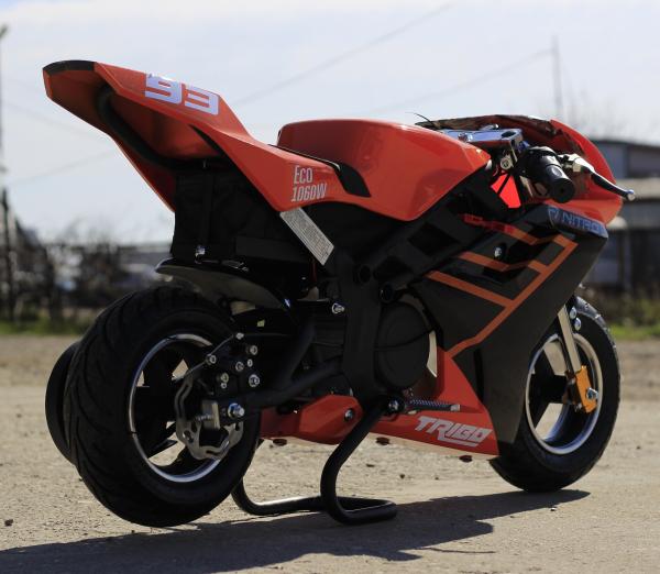 Motocicleta electrica Pocket Bike NITRO Eco TRIBO 1060W 36V #Orange 4