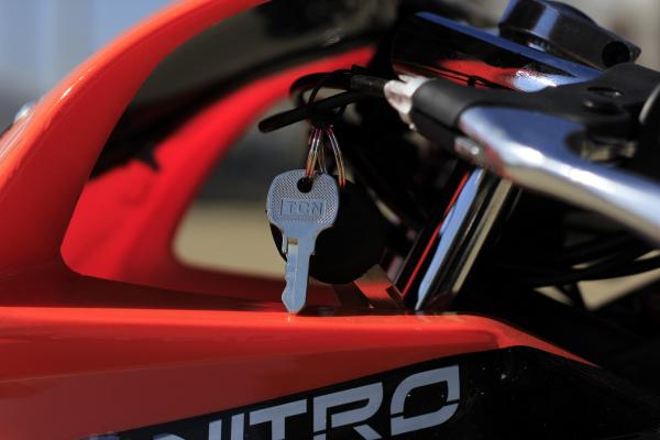 Motocicleta electrica Pocket Bike NITRO Eco TRIBO 1060W 36V #Orange 13