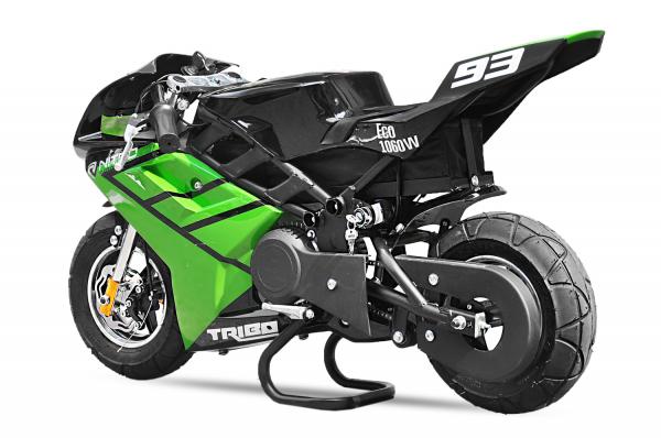 Motocicleta electrica Pocket Bike NITRO Eco TRIBO 1060W 36V #Verde [0]