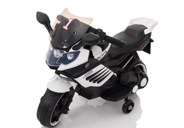 Motocicleta electrica pentru copii LQ158 20W STANDARD #Alb 0