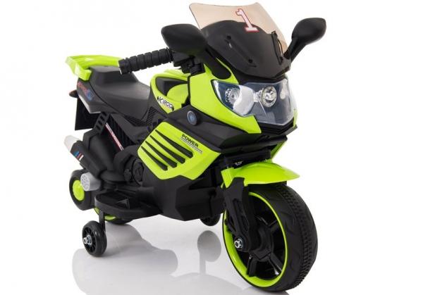 Motocicleta electrica pentru copii LQ158 20W STANDARD #Verde 0
