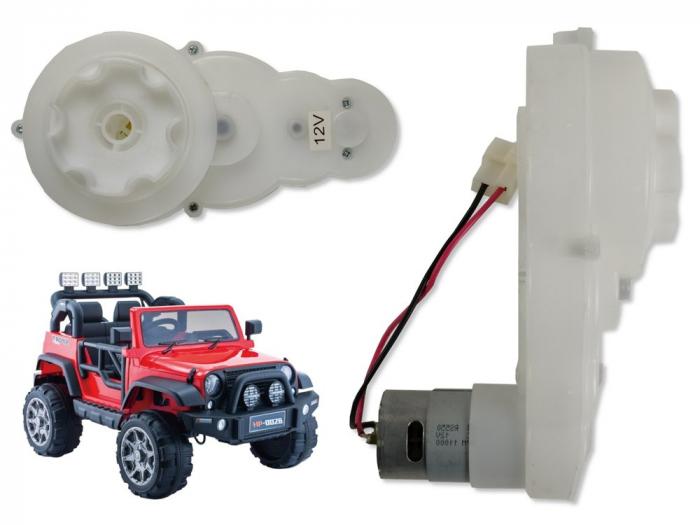 Motoreductor 12V 11000RPM pentru masinuta electrica [0]