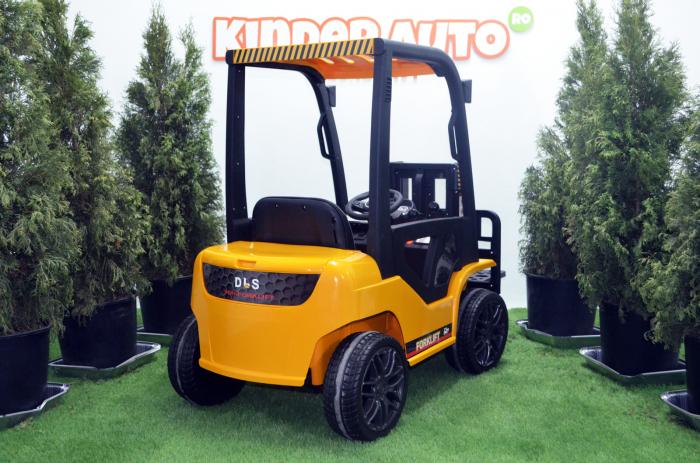 Motostivuitor electric pentru copii BJD08 90W 12V DELUXE #Galben [5]