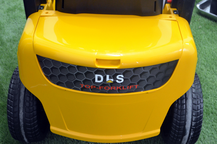 Motostivuitor electric pentru copii BJD08 90W 12V DELUXE #Galben [10]