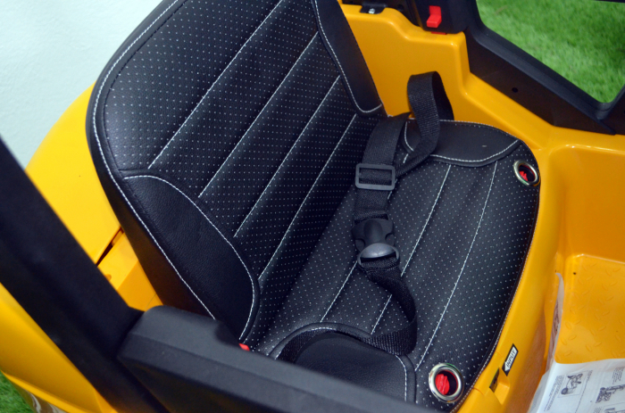 Motostivuitor electric pentru copii BJD08 90W 12V DELUXE #Galben [4]