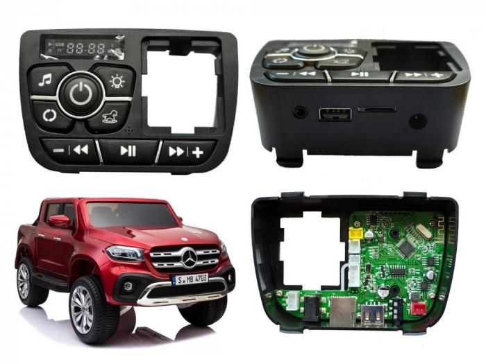 Music player cu port USB, slort card pentru Mercedes X-Class [0]