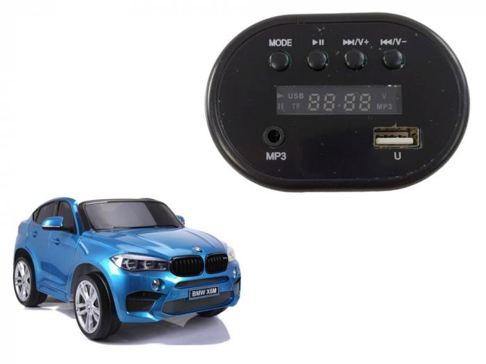 Music Player Mp3 pentru masinuta electrica BMW X6M [0]