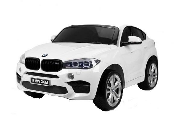 Masinuta electrica BMW X6M 12V XXL PREMIUM #ALB [0]