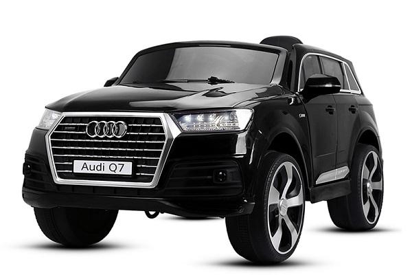 Audi Q7 Negru, 2 x 35W, pentru copii 2-7 ani 0