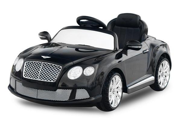 Masinuta electrica Bentley Continental GTC STANDARD 12V #Negru 0