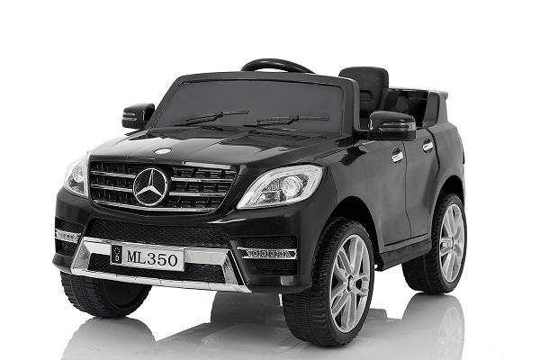 Masinuta electrica Mercedes ML350 2x25W STANDARD 12V #Negru 0