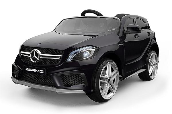 Masinuta electrica Mercedes A45 AMG PREMIUM 12V #Negru 0