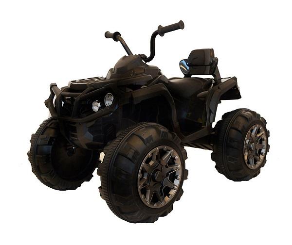 Mini ATV electric Quad Offroad cu Telecomanda STANDARD #Negru 0