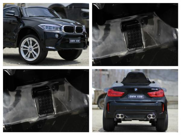 Masinuta electrica BMW X6M 2x35W 12V PREMIUM #Negru 7