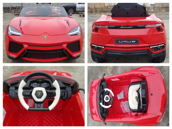 Masinuta electrica copii 2-6 ani Lamborghini Urus, rosu [7]