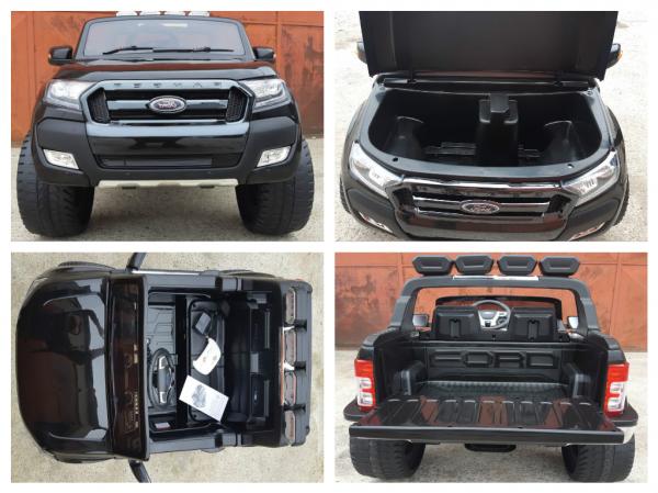 Masinuta electrica Ford Ranger WildTrak STANDARD 2x 35W 12V #Negru 6