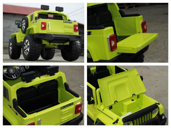 Masinuta electrica JeeP Outdoor 12V STANDARD #Verde [7]
