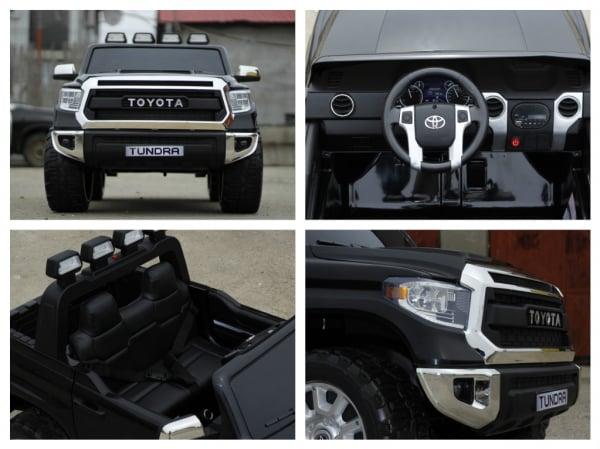 Masinuta electrica Toyota Tundra 2x45W PREMIUM #Negru 7
