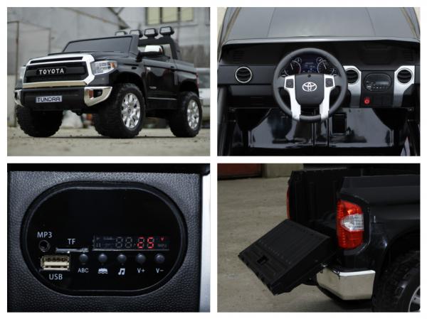 Masinuta electrica Toyota Tundra 2x45W PREMIUM #Negru 8