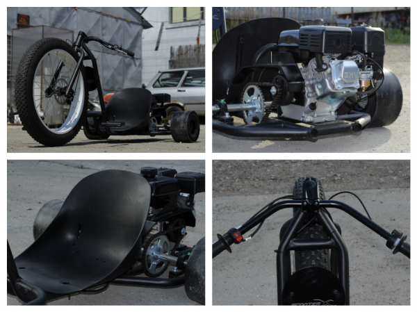 Motocicleta NITRO Drift-TRIKE 200cc Roti 26/11 6