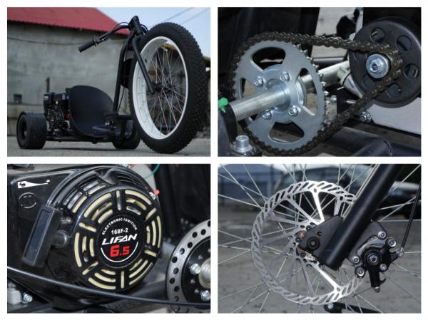 Motocicleta NITRO Drift-TRIKE 200cc Roti 26/11 8