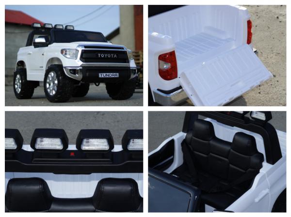 Masinuta electrica Toyota Tundra 2x45W PREMIUM #Alb 6