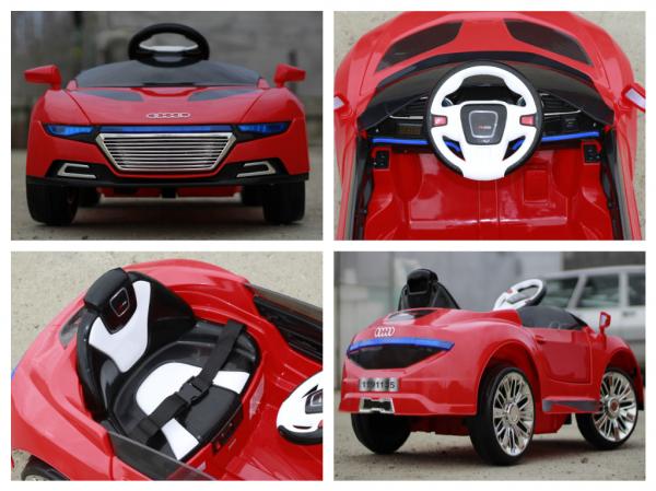 Masinuta electrica AD R-COUPE 60W 12V STANDARD #Rosu 7