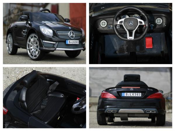Masinuta electrica Mercedes SL63 AMG STANDARD 12V #Negru 6