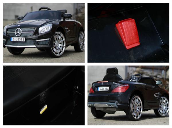 Masinuta electrica copii Mercedes SL63 AMG neagra 8