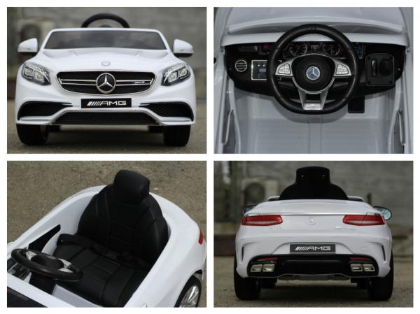 Masinuta electrica pentru copii 2-6 ani, Mercedes S63 6