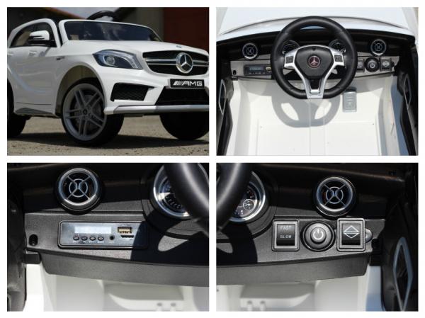 Masinuta electrica Mercedes A45 AMG PREMIUM 12V #ALB 7
