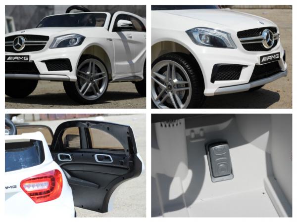 Masinuta electrica Mercedes A45 AMG PREMIUM 12V #ALB 8