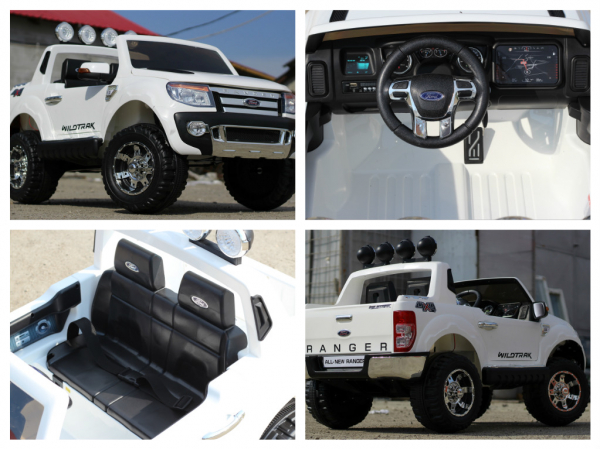 Masinuta electrica Ford Ranger F150 STANDARD 2x35W 12V #ALB 6