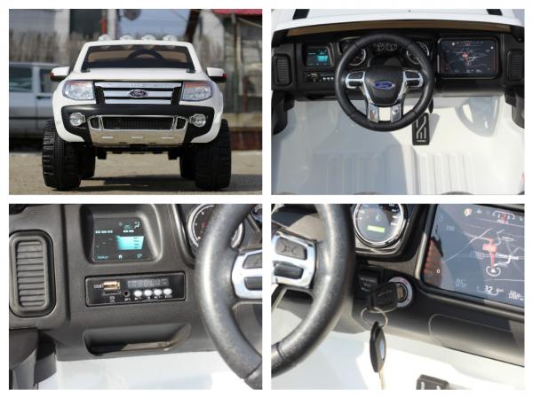 Masinuta electrica Ford Ranger F150 STANDARD 2x35W 12V #ALB 7