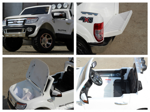 Masinuta electrica Ford Ranger F150 STANDARD 2x35W 12V #ALB 8