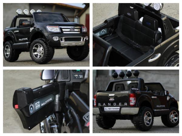 Masinuta electrica copii Ford Ranger F150, negru 8